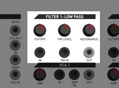 KilpatrickAudio PHENOL Two Analog Filters