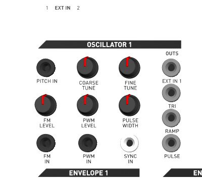 KilpatrickAudio PHENOL Two Analog Oscllators